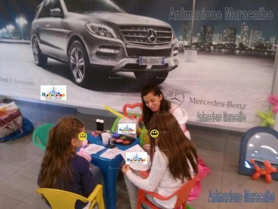 Animazione Maracaibo Mercedes eventi aziendali