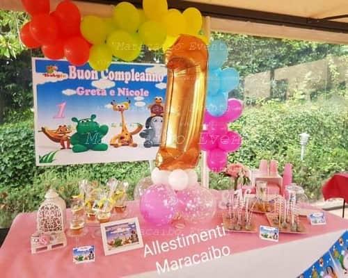 Allestimenti addobbi palloncini composizioni elio Ancona Macerata Pesaro Ascoli Piceno Fermo